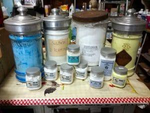 Produits chimiques en vrac