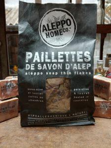 Paillettes de savon d'Alep pour la lessive
