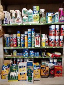 Traitement des nuisibles, insecticides, répulsifs